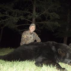Sam Law\'s Nice Black Bear 2012 Green Score 19 1/4