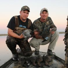 Mitchell Mark with some beautiful ducks