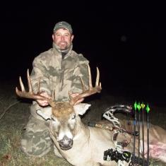 "Chris Speer\'s 23"" wide buck 2013"